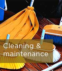 Yacht Cleaning and maintenance